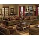 Jackson Belmont Living Room Set in Umber
