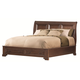 Aspenhome Richmond Eastern King Sleigh Storage Bed in Charleston Brown