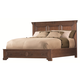 Aspenhome Richmond Eastern King Panel Storage Bed in Charleston Brown