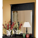Homelegance Pottery Mirror in Black 875-6