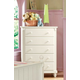 Homelegance Pottery Chest in White 875W-9