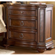 Homelegance Prenzo Nightstand in Warm Brown 1390-4