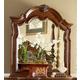 Homelegance Prenzo Mirror in Warm Brown 1390-6