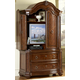Homelegance Prenzo Armoire in Warm Brown 1390-7