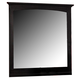 Homelegance Preston Mirror in Black 814BK-6