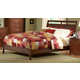 Homelegance Rivera Queen Sleigh Bed in Warm Brown Cherry 1440-1