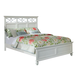 Homelegance Sanibel Full Panel Bed in White 2119FW-1