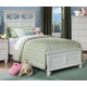 Homelegance Sanibel Twin Panel Bed in White 2119TW-1