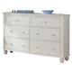 Homelegance Sanibel Dresser in White 2119W-5