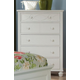 Homelegance Sanibel Chest in White 2119W-9