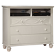 Homelegance Sanibel TV Chest in White 2119W-11