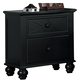 Homelegance Sanibel Nightstand in Black 2119BK-4