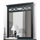 Homelegance Sanibel Mirror in Black 2119BK-6