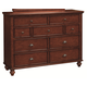 Aspenhome Madison Chesser in Brown IA200-455-BRH