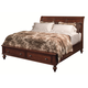 Aspenhome Madison Queen Storage Sleigh Bed in Brown