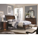 Aspenhome Madison Storage Sleigh Bedroom Set in Brown