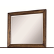 Aspenhome Cross Country Dresser Mirror in Saddle Brown IMR-462