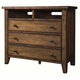 Aspenhome Cross Country Entertainment Chest in Saddle Brown IMR-485