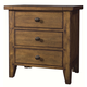 Aspenhome Cross Country Liv360 Nightstand in Saddle Brown IMR-450