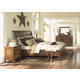 Aspenhome Cross Country Sleigh Bedroom Set in Saddle Brown