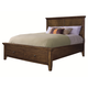 Aspenhome Cross Country Twin Panel Storage Bed in Saddle Brown