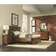 Aspenhome Cross Country Panel Storage Bedroom Set in Saddle Brown
