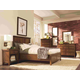 Aspenhome Cross Country Panel Bedroom Set in Saddle Brown