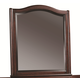 Aspenhome Lincoln Park Dresser Mirror in Sheer Mahogany I82-462