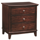 Aspenhome Lincoln Park Liv360 Nightstand in Sheer Mahogany I82-450