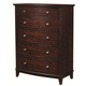 Aspenhome Lincoln Park Chest in Sheer Mahogany I82-456