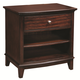 Aspenhome Lincoln Park One Drawer Nightstand in Sheer Mahogany I82-451