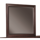 Aspenhome Lincoln Park Chesser Mirror in Sheer Mahogany I82-463