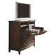 Aspenhome Lincoln Park Liv360Entertainment/Work Chest in Sheer Mahogany I82-486