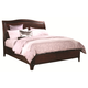 Aspenhome Lincoln Park Queen Sleigh Bed in Sheer Mahogany I82-400
