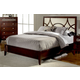 Homelegance Simpson California King Platform Bed in Brown Cherry 2134K-1CK