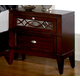 Homelegance Simpson Nightstand in Brown Cherry 2134-4
