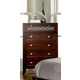 Homelegance Simpson Chest in Brown Cherry 2134-9
