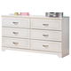 Lulu Dresser in White