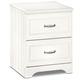 Lulu Nightstand in White