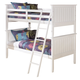 Lulu Twin Bunk Bed in White