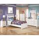 Lulu 4-Piece Panel Bedroom Set in White