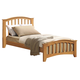 Acme San Marino Youth Full Slat Bed in Maple 08967F