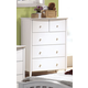 Acme San Marino Youth Chest in White 09157