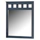 Leo Dresser Mirror in Blue