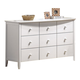Acme San Marino Youth 9-Drawer Dresser in in White 09159