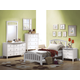 Acme San Marino Youth Slat Bedroom Set in White