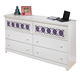 Zayley Dresser in White
