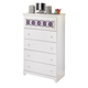 Zayley Chest in White