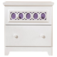 Zayley Nightstand in White