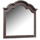 Homelegance Townsford Mirror in Dark Cherry 2124-6